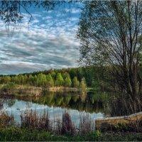 Вечернее озеро. :: Константин Ушмаев