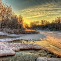 Про теплый свет морозного утра :: Сергей Попрошаев