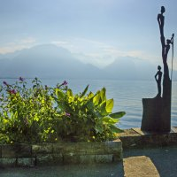 Швейцария, Женевское озеро. :: Наталья Иванова