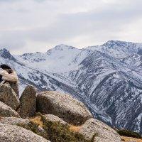 фотограф и горы :: Горный турист Иван Иванов