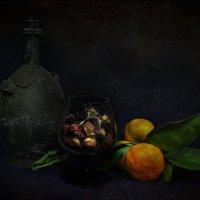 Вино, фрукты, сухие цветы. :: Александр Валяев