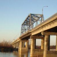 Мост река Припять :: Александр