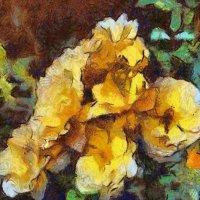 Чайные розы... :: Tatiana Markova