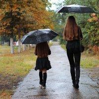 Осенний дождь :: Ольга Лыкова