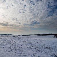 Весенние небо Южного Урала. :: Поток