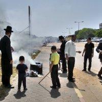 сжигание квасного(שריפת חמץ)«Израиль, всё о религии...» :: Shmual Hava Retro