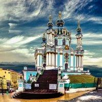 Андреевская церковь - Киев :: Богдан Петренко