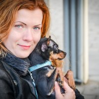 Дама с собачкой :: Олеся Семенова