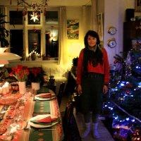 Рождественский вечер - контрастный свет :: Елена Назарова