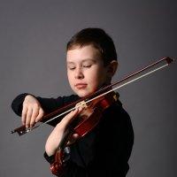Юный скрипач :: Виктория Доманская