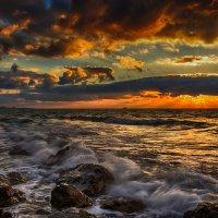 Поздний закат :: Виктор Мороз