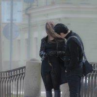 Разговор со странной девушкой туманным питерским утром :: Евгения Кирильченко