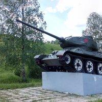 Танк т-34 :: Анатолий Киренков