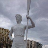А вот и девушка с веслом. Ностальгия №2. :: Galina194701