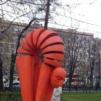 И  ЭТО тоже на Московской ВЕСНЕ! :: Galina194701