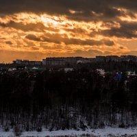 город на закате дня :: Константин Шабалин