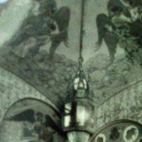 Настенная живопись на парадной лестнице Феодоровского Храма. :: Светлана Калмыкова