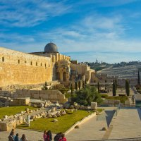 Иерусалим. Старый Город. Вид на дворец Хасмонеев и мечеть Аль-Акса. :: Игорь Герман