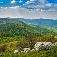 На вершине Сандык-Кая :: Zinaida Belaniuk