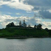 Волжский пейзаж. :: Александр Атаулин