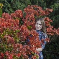Александра, Май 2015, Ботанический сад, Калининград :: Екатерина Калашникова