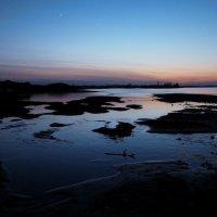 Небо синее в реке купается... :: Александр Попов