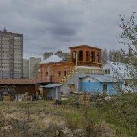 """Строительство храма """"40 Севастийский мучеников"""" в г. Конаково. (Можно не оценивать) :: Михаил (Skipper A.M.)"""