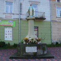 Статуя  Пресвятой  Богородицы  в  Стрыю :: Андрей  Васильевич Коляскин