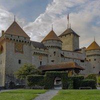 Шильонский замок. Швейцария, Монтрё. :: Наталья Иванова