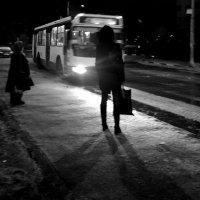 Остановка утром :: Николай Филоненко