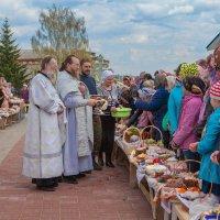 Освящение куличиков :: Сергей Величко