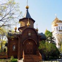 вера от размера храма не зависит :: Олег Лукьянов