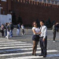 Из Алматы с дочерью... :: Аркадий Беляков