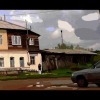 Городок в Поволжье :: A