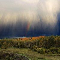 Осень,гроза :: Сергей Зоммер