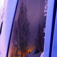 отражение в машинном стекле :: Наталья Зимирева