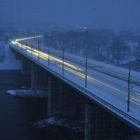 Мост через Енисей. :: Владимир