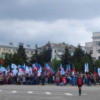 Митинг к празднику 1 мая 2016 года в Луганске :: Наталья (ShadeNataly) Мельник