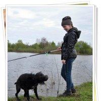Нету там никакой рыбы...а вода такая мокрая и холодная... :: muh5257