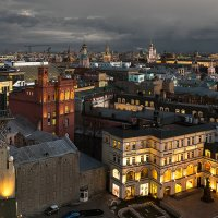 Московские крыши :: Ирина Климова