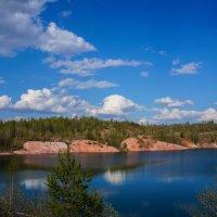 Весна на озере :: Анатолий
