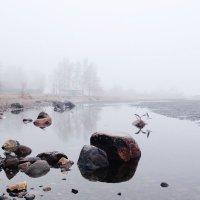 Туман в Петрозаводске :: Ольга Жижманова