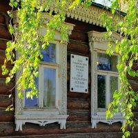Низкий дом с голубыми ставнями... :: Лесо-Вед (Баранов)