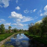 В реку смотрятся облака... :: Александр Бойко