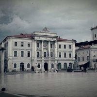 Площадь в Пирано :: Виктория Нефедова