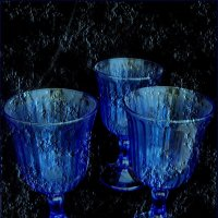 Синее стекло :: Нина Корешкова