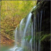 Лесной водопад... :: Андрей Янтарёв
