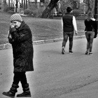 Главная и второстепенная роль в кадре. :: Анастасия Алёшина