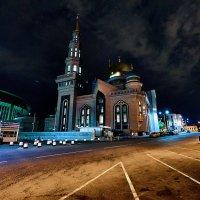 Московская соборная мечеть на Олимпийском проспекте :: Игорь Иванов