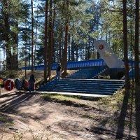 Мемориал летчикам Морской авиации  защищавшим Ораниенбаумский плацдарм!! :: Валентина Папилова